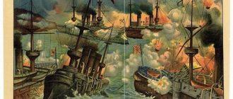 Подвиг «Варяга» и «Корейца» в 1904 году