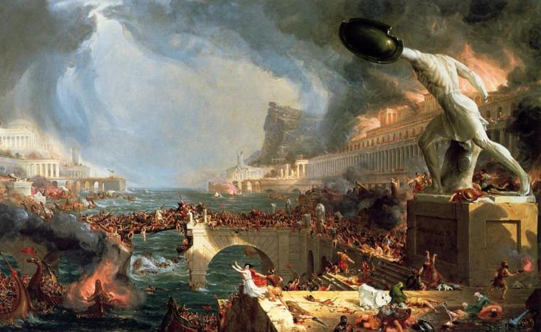 Почему ослабело величие Римской империи?