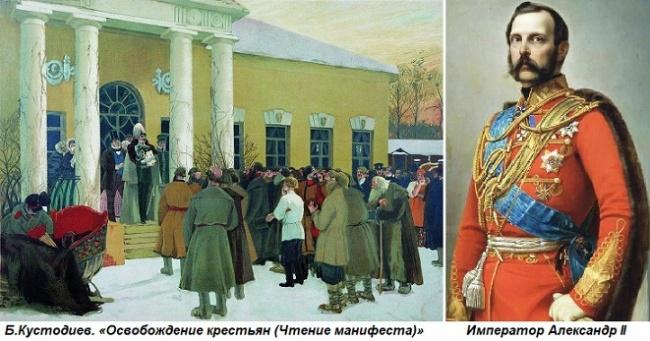 Повинности крестьян при Александре II