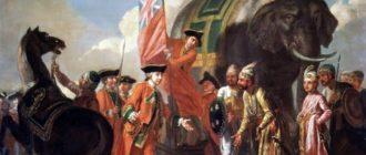 Кризис и распад империи Великих Моголов в Индии